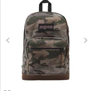 Jansport camouflage backpack